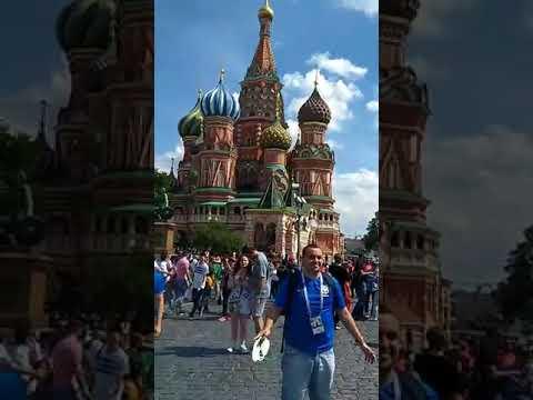 Mãe da Fome o enviado do Jornal Agora é Sério na Copa da Russia 2018 no Centro de Moscou
