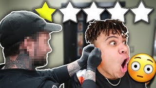 Getting EARS PIERCED At The WORST Reviewed Shop In My City (1 STAR) *THEY USED THIS ON HIS EAR..*