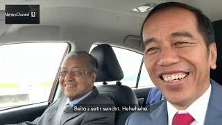 #VOLGJOKOWI DISETIRI NGEBUT MAHATHIR MOHAMAD || KUNJUNGAN JOKOWI KE MALAYSIA
