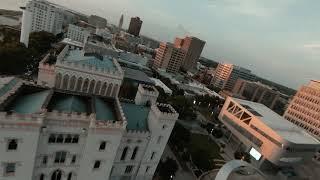 First DJI FPV Drone flight | Downtown Baton Rouge, Louisiana