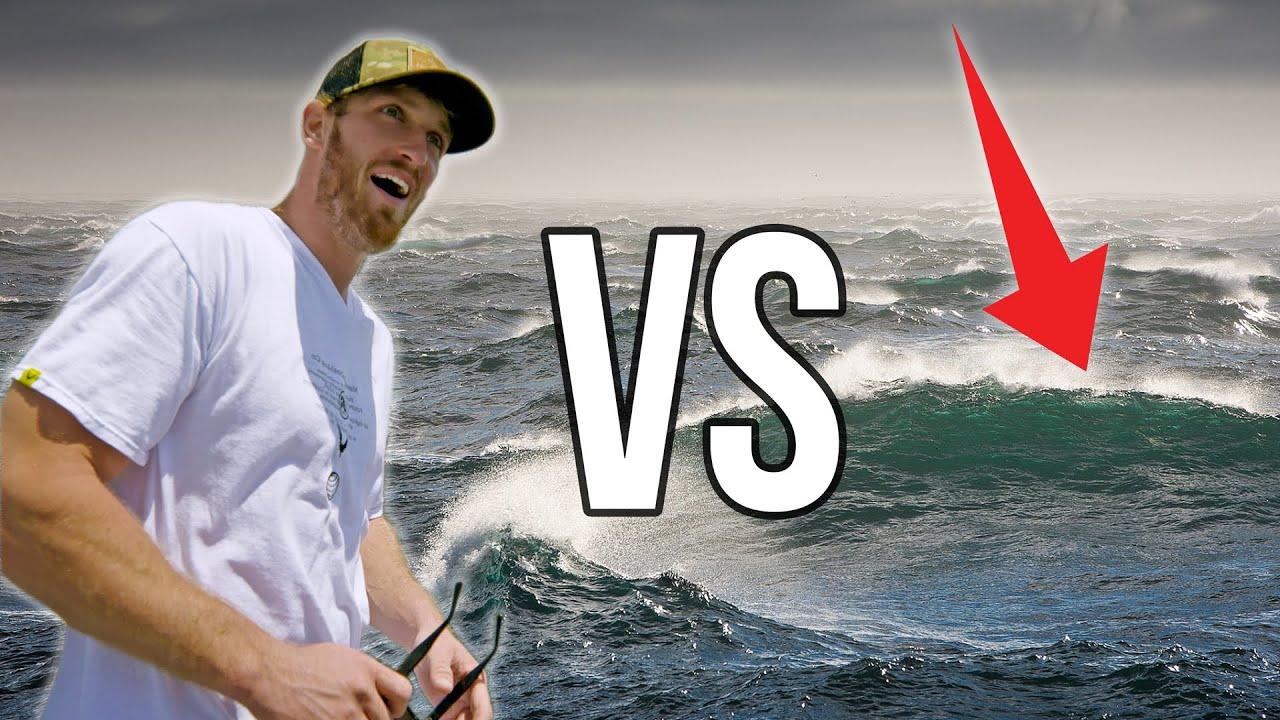 Logan Paul Fights The Ocean