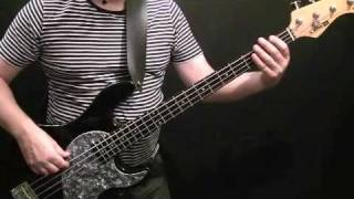 How To Play Bass Guitar To Smooth Criminal - Michael Jackson