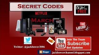 NETFLIX Top Secret Codes March 2017