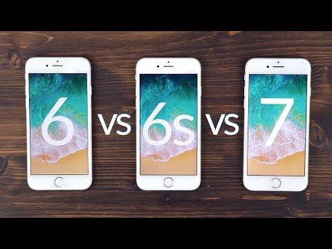 iPhone 6 vs iPhone 6s vs iPhone 7 | Performance, Akku, Display, Kamera