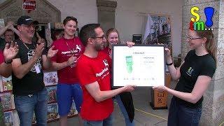 Bericht: Kingdomino - Beeple-Award Überreichung