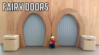 How To Make Fairy Doors - Wooden Creations