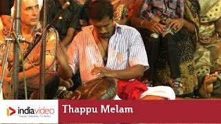 Thappu Melam: the drum symphony of Padayani