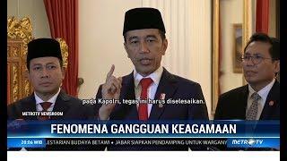 Jokowi Marah! Adanya Intoleransi Pembangunan Masjid dan Gereja di Daerah