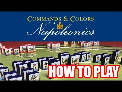 Command and Colors: Napoleonics: How To Play