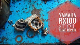 Yamaha Rx100rx135 Repair 2T Oil Pump At Home.