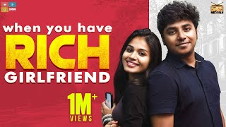 When you have Rich Girlfriend || Narikootam || Tamada Media