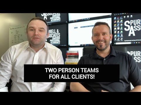 Two Person Accounting Teams For All Clients