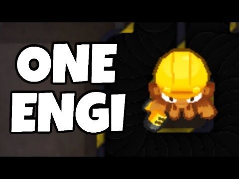 How Long Can You Survive With 1 Engineer? (Bloons TD 6)