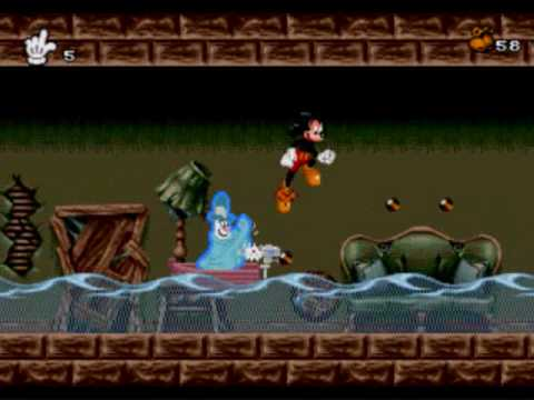 Mickey Mania The Timeless Adventures of Mickey Mouse Walkthrough