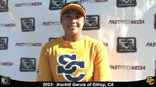 2023 Xochitl Garcia Pitcher Softball Skills Video - Ca Suncats