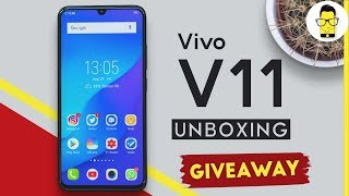 Vivo V11 Pro unboxing+giveaway: 11 reasons why it is a unique phone