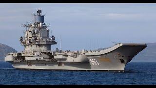 Авианосец Адмирал Кузнецов - Ударная Сила!!! Тяжёлый авианесущий крейсер