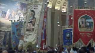 preview picture of video 'effige della madonna dell'arco visita san giuseppe vesuviano....'