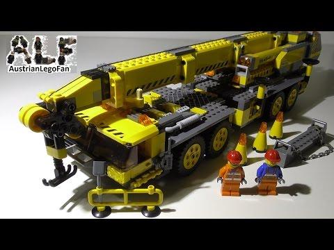 Vidéo LEGO City 7249 : La grue mobile XXL