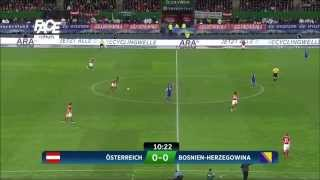 Bosnia vs Austria football soccer match first Half HDBosna vs Austria