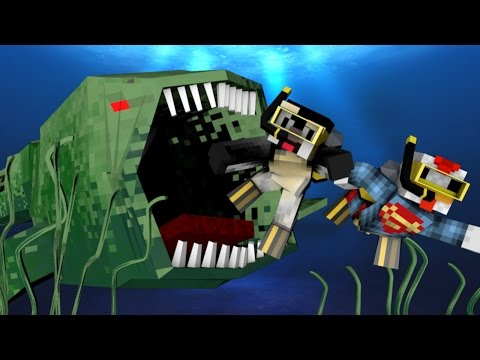 Minecraft | DEEP SEA FISHING MOD Showcase! (Fantastic Fish, Mutant Fish, Ultimate Fishing)