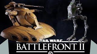 Обзор наземной техники: Гигант MTT, Шагоход AT-RT, Танк AAT | Star Wars BATTLEFRONT 2 BETA
