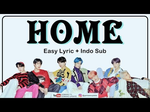 BTS - HOME Easy Lyrics By GOMAWO [Indo Sub]