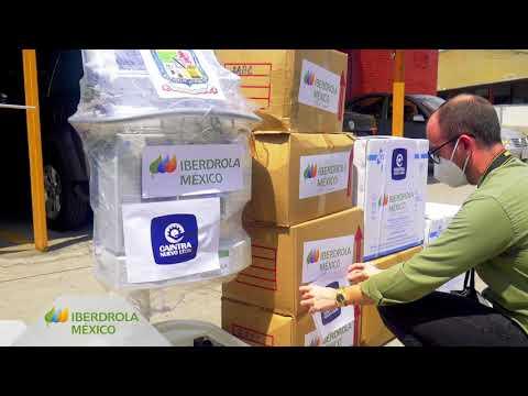 Entrega material sanitario Nuevo León