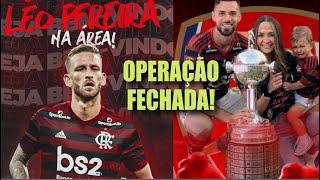 Negócio Fechado! Zagueiro Léo Pereira contratado pelo Flamengo! Pablo Marí negociado com o Arsenal!