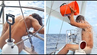We took COLD SHOWERS for 5+Years— Sailing Uma [Step 210]