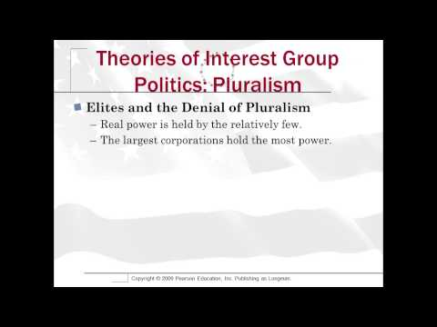 Video 11 1 Theories of Interest Groups