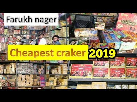 farukh nagar diwali cracker 2019/sky shot cracker market 2019/ wholesale market