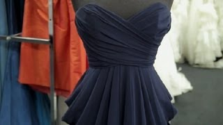 Navy Dresses to Wear to a Wedding : How to Dress for a Wedding