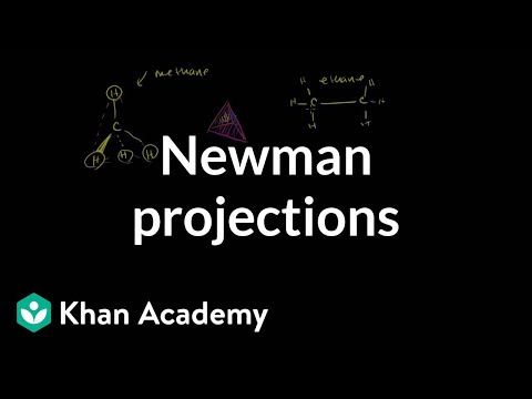 Newman Projections Video Khan Academy