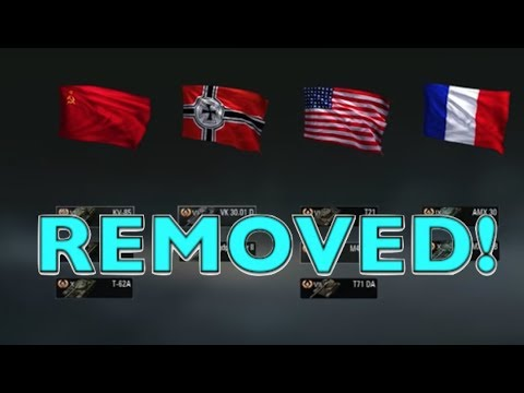 Wot - Tanks Being Removed! | World of Tanks