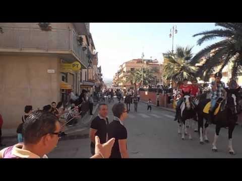 Sciara processione di Sant`Eligio del/29/9/2013
