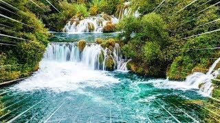 Meditation Music 10 Min Waterfall Positive Energy Awarness Chakra Healingsound Of Nature