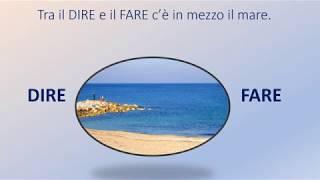 PROVERBI ITALIANI, Tra DIRE e FARE.....