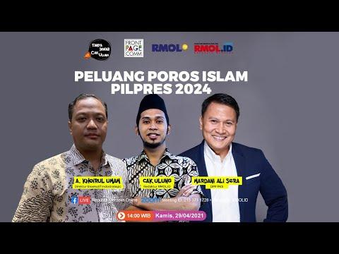 Tanya Jawab Cak Ulung • Peluang Poros Islam Pilpres 2024