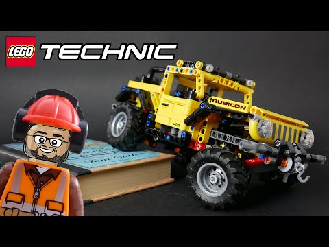 Vidéo LEGO Technic 42122 : Jeep Wrangler