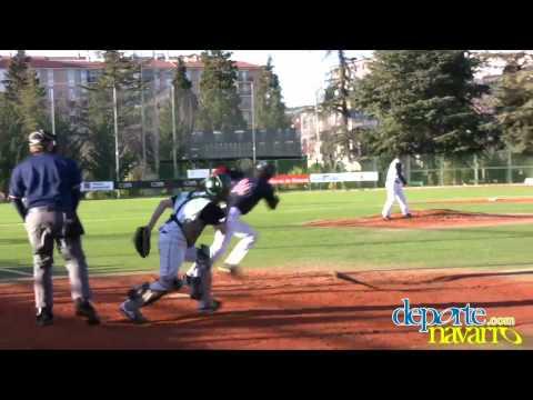 Beisbol Navarra vs Pamplona, pretemporada, 05/02/11