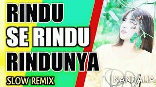DJ RINDU SE RINDU RINDUNYA REMIX ORIGINAL TERBARU