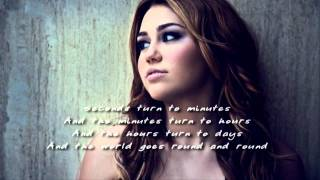 [Bastien Laval feat. Layla] Miley Cyrus - Restlessness - Lyrics - (DEMO) - New Song 2011