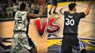 Stephen Curry vs Kawhi Leonard - Half Court Challenge