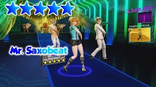 Dance Central 3 - Mr. Saxobeat - 5 Gold Stars