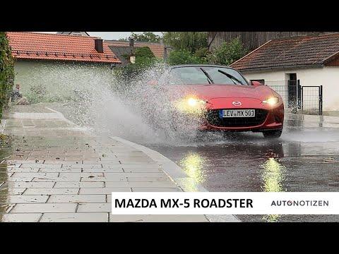Mazda MX-5 Roadster Skyactiv-G 2.0i (184 PS): Regen - Review / Test / Fahrbericht