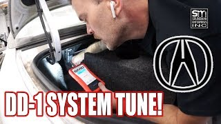 Car plans AND DD-1 Acura system tune!