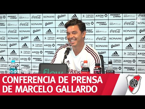 Conferencia de prensa de Marcelo Gallardo - 27/2/2020