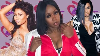 """The Barbs & Bardi Gang Go Crazy After Remy Ma Says It Was """"Corny"""" How Nicki & Cardi Ended Their Beef"""