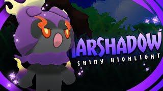 Marshadow  - (Pokémon) - WHAT IS THIS LUCK!? SHINY MARSHADOW! - Pokémon Sun & Moon Shiny Highlight (Hacked Shiny Hunting)